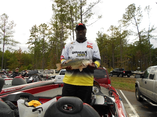 Tommy Robinson largemouth bass from Barren River