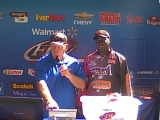 Tommy Robinson weighs in at the BFL Grand River 2012-08-18